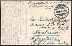 724: Kriegsgefangenenlagerpost - Briefe Posten