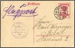 9820: Zeppelin, Zeppelinpost LZ120-ZR3
