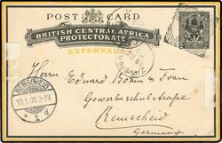 4723: Nyassaland Brit. Zentralafrika - Ganzsachen