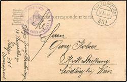 4795: Österreich Feldpost Allgemeine Ausgaben - Besonderheiten