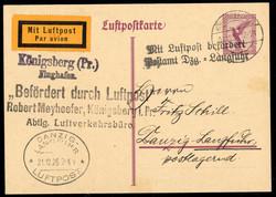 448020: Luftfahrt, Flugpost, deutsche Flugpost bis 1950