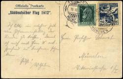 15: Altdeutschland Bayern - Flugpostmarken