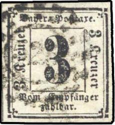 15: Altdeutschland Bayern - Portomarken