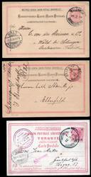 4785: Österreich Post in der Levante - Briefe Posten