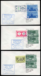7690: Sammlungen und Posten Zeppelin und Luftpost