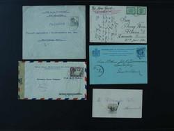 4630: Niederländische Antillen - Briefe Posten