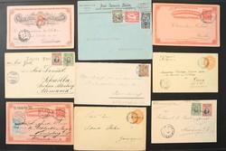 2425: Ecuador - Briefe Posten
