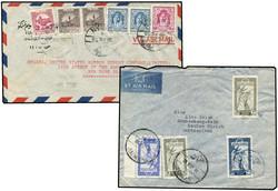 3765: Jordanien - Briefe Posten