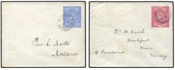 1710: Antigua und Antigua Barbuda - Briefe Posten