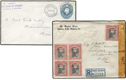 1775: Bahamas - Briefe Posten