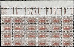 3580: Italienisch Somaliland - Paketmarken