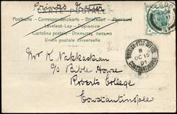 2895: Grossbritannien Britische Post in der Türkei - Briefe Posten