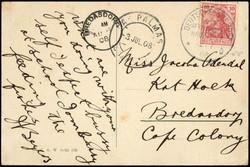 3855: Kap der Guten Hoffnung - Briefe Posten