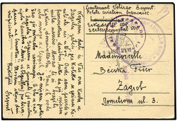 448030: Luftfahrt, Flugpost, internationale Flugpost bis 1950