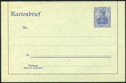 325: Ost-Oberschlesien Oppelner Notausgabe - Ganzsachen