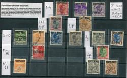 2365: Dänemark Postfähre-Paketmarken - Sammlungen