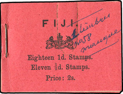 2525: Fiji - Markenheftchen