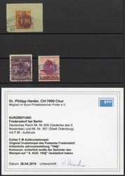 910: Deutsche Lokalausgabe Fredersdorf - Sammlungen