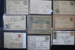 7012: Sammlungen und Posten Dt. Kolonien u. Auslandspostämter - Briefe Posten