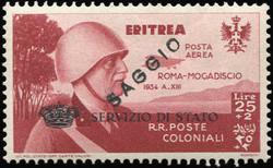 3560: Italienisch Eritrea - Dienstmarken
