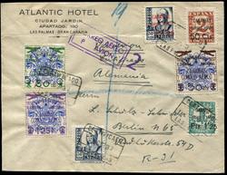 5960: Spanien Kanarischen Inseln Flugpost.