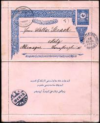 6355: Türkei - Ganzsachen