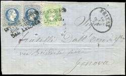 4785: Österreich Post in der Levante - Besonderheiten
