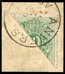 1810: Belgien - Dienstmarken