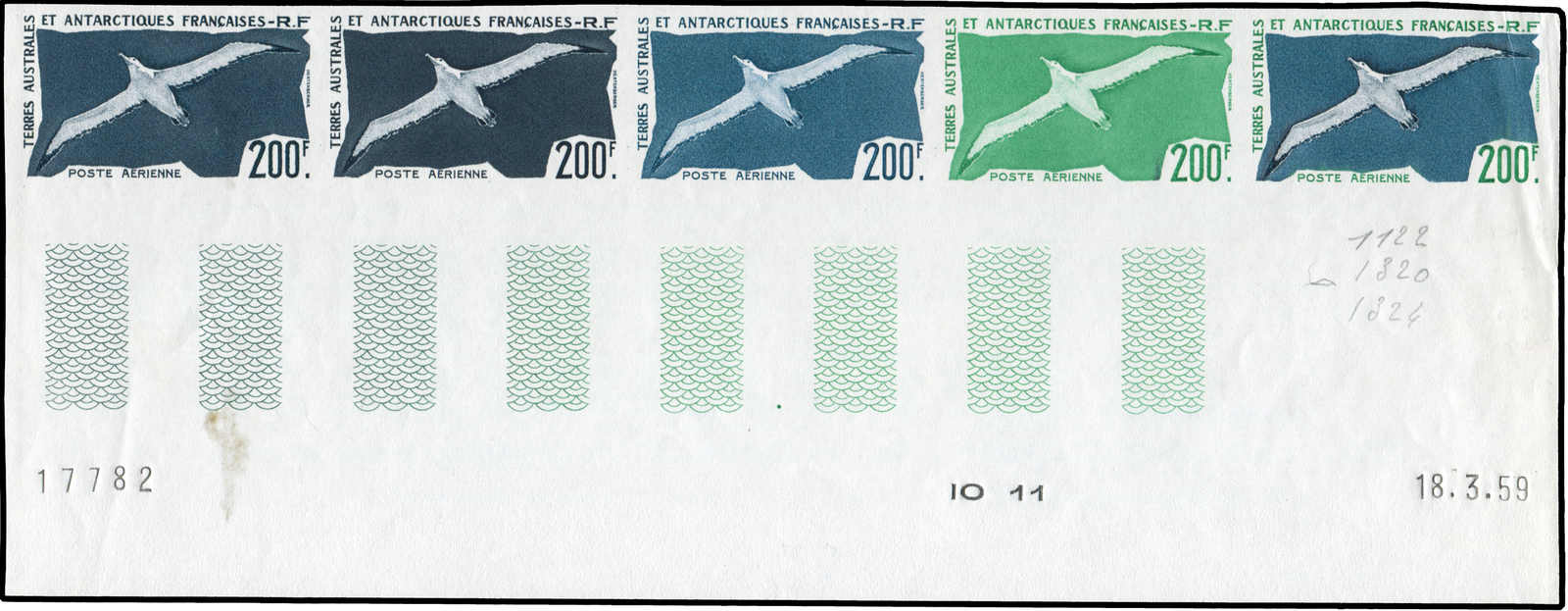 Lot 4292 - Worldwide A-Z French Antarctic Territory -  Auktionshaus Schlegel 26 Public Auction
