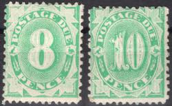 1750: Australien - Portomarken