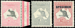 1750100: Australien - KGV - CofA Wasserzeichen