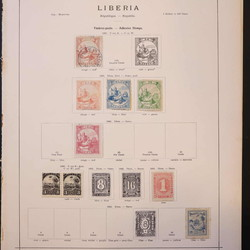 4165: Liberia - Collections