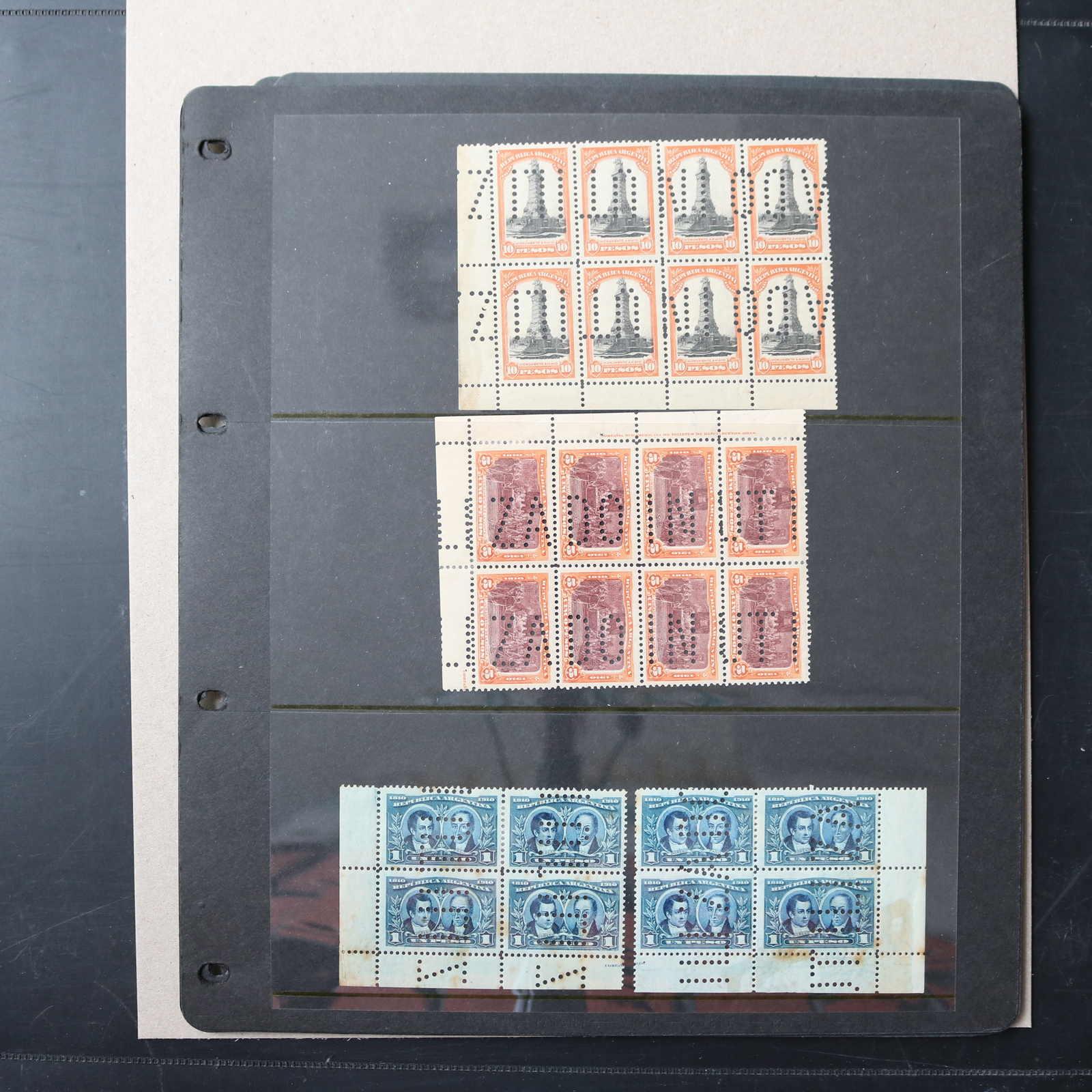 Lot 2734 - COLLECTIONS & ACCUMULATIONS Argentina -  Auktionshaus Schlegel 26 Public Auction