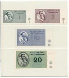 110.80.70: Banknoten - Deutschland - Wehrmacht und Besatzungsausgaben II. WK