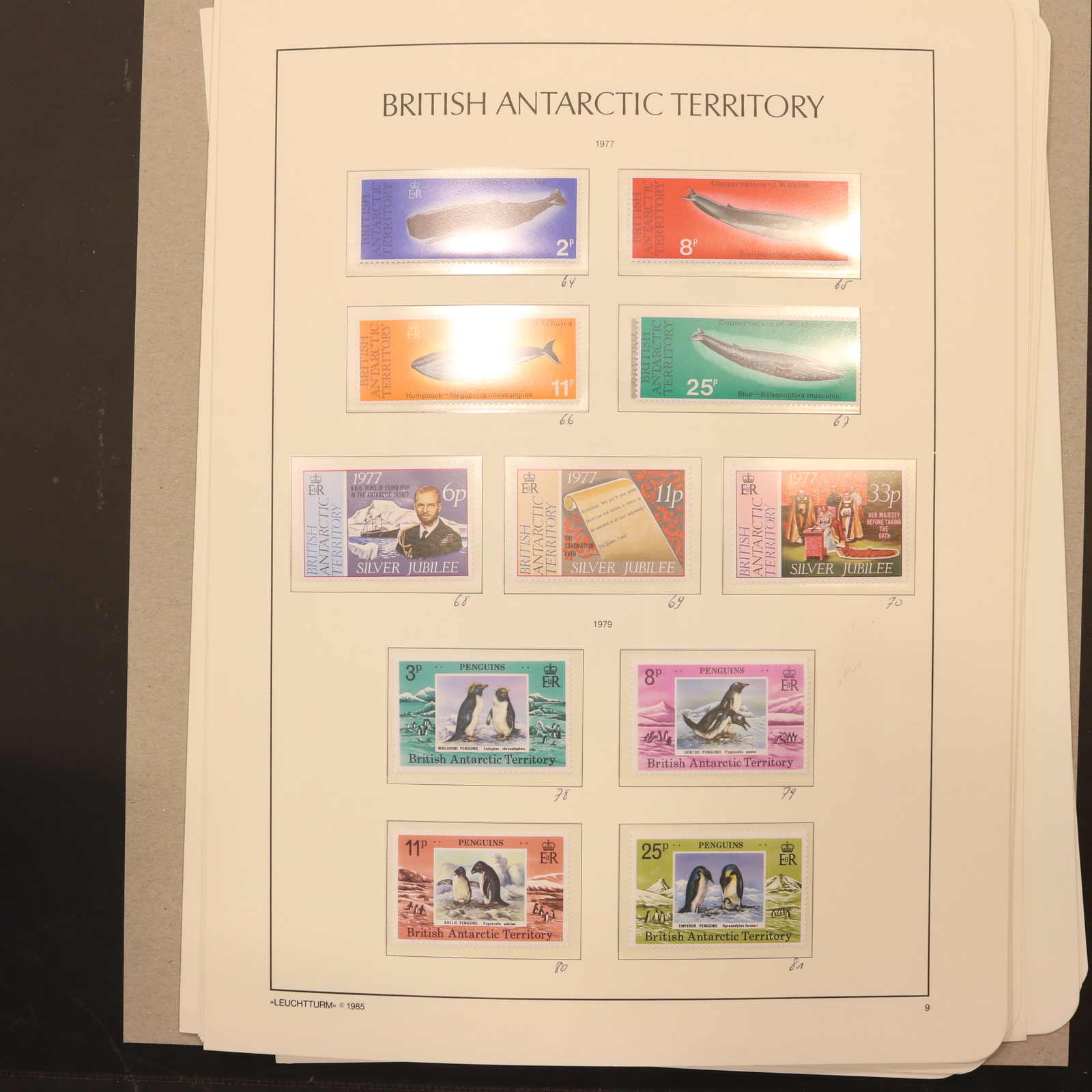 Lot 2764 - COLLECTIONS & ACCUMULATIONS british antarctic territory -  Auktionshaus Schlegel 26 Public Auction