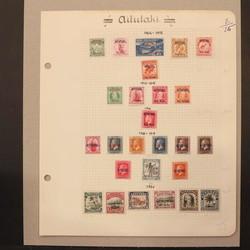 1605: Aitutaki - Sammlungen
