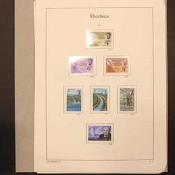 5355: Rhodesien - Sammlungen
