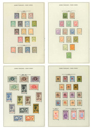 2685: Französisch Guinea - Sammlungen