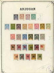 1700: Anjouan - Sammlungen