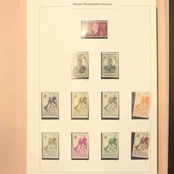 2750: Französisch Westafrika (Occident.) - Sammlungen