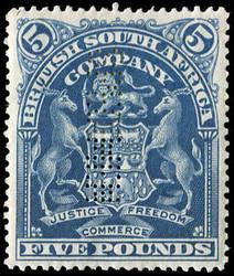 1990: Britische Südafrika Gesellschaft