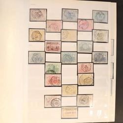 1820: Belgien Eisenbahnpaketmarken - Sammlungen