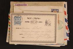1590: Äthiopien - Briefe Posten