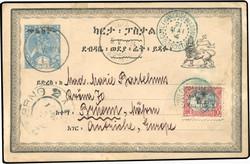 1590: Äthiopien - Ganzsachen