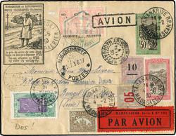 4220: Madagaskar - Flugpostmarken