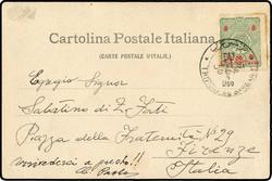 4170025: Libyen Italienisch Postämter