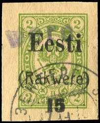 2460: Estland Lokalausgabe Wesenberg