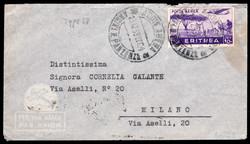 3560: Italienisch Eritrea - Flugpostmarken
