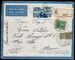 3540: Italienisch Äthiopien - Flugpostmarken