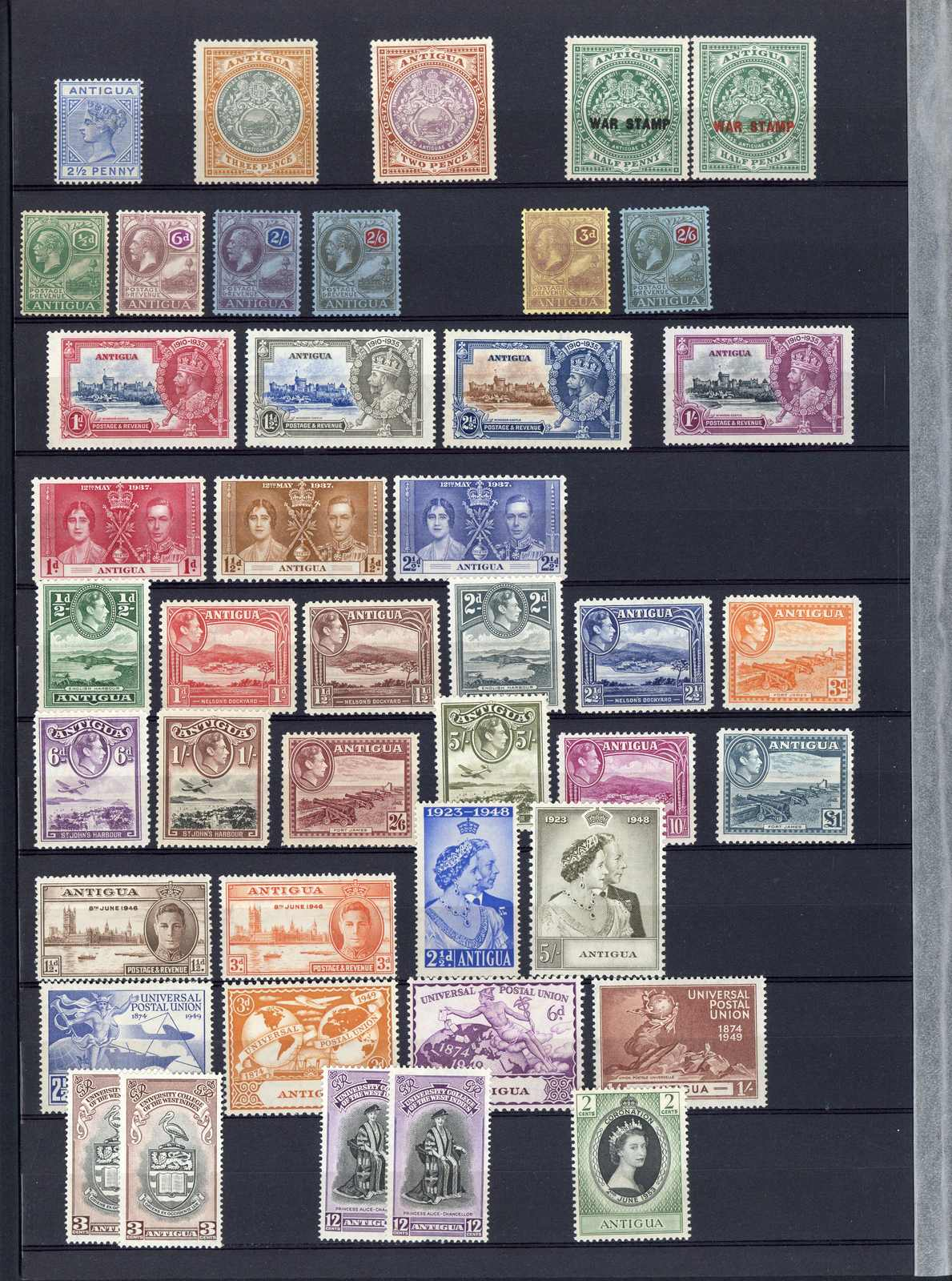 Lot 2731 - COLLECTIONS & ACCUMULATIONS Antigua & Antigua Barbuda -  Auktionshaus Schlegel 26 Public Auction